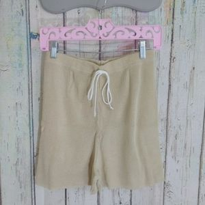 Knit High Waist Shorts
